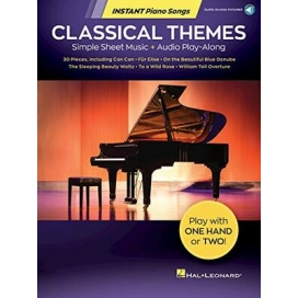 AAVV SIMPLE CLASSICAL THEMES - INSTANT PIANO SONGS
