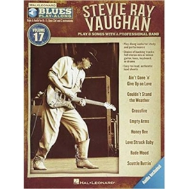 AAVV BLUES PLAY ALONG VOL 17 STEVIE RAY VAUGHAN + AUDIO ACCESS