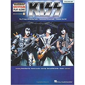 AAVV DELUXE GUITAR PLAY ALONG VOLUME 18 KISS + AUDIO ACCESS