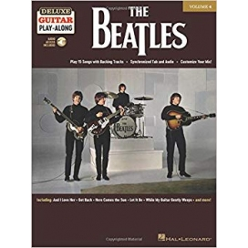 AAVV DELUXE GUITAR PLAY ALONG VOLUME 4 THE BEATLES + CD