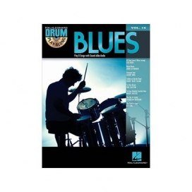 AAVV DRUM PLAY ALONG VOLUME 16 BLUES + CD