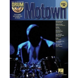AAVV DRUM PLAY ALONG VOLUME 18 MOTOWN + CD