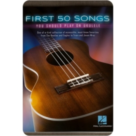 AAVV FIRST 50 SONGS FOR UKULELE