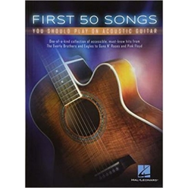 AAVV FIRST 50 SONGS YOU SHOULD PLAY ON ACOUSTIC GUITAR
