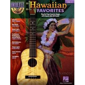 AAVV HAWAIIAN FAVORITES FOR UKULELE + CD