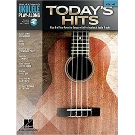 AAVV UKULELE PLAY ALONG VOLUME 40 TODAY'S HITS