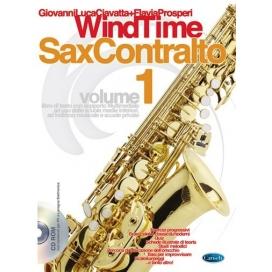 CIAVATTA/ PROSPERI WINDTIME SAX ALTO + CD