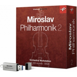 IK Multimedia Miroslav Philharmonik 2 - orchestra virtuale per MAC e PC (64 bit) - Crossgrade