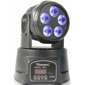 BEAMZ MHL90 MOVING HEAD WASH 5X18W
