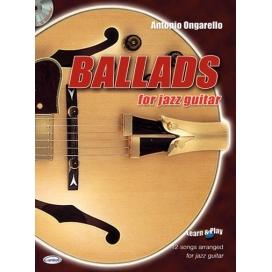 ONGARELLO BALLADS FOR JAZZ GUITAR +CD