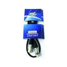MP GEAR PXX-001/5M CAVO MICROFONICO XLR/XLR 5MT