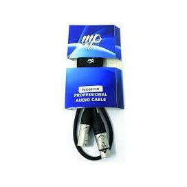 MP GEAR PXX-001/15M CAVO MICROFONICO XLR/XLR 15MT