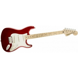 SQUIER STRATOCASTER STANDARD MN CANDY APPLE RED