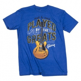 GIBSON PLAYED BY THE GREATS T ROYAL BLUE SMALL