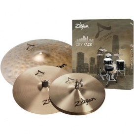 "Zildjian Cartone 4 A ""City Pack"" (CITYP248): ride + hi-hat + crash"