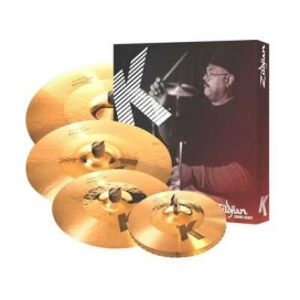 Zildjian Cartone 5 K Custom Hybrid (K1250): ride + hi-hat + 2 crash