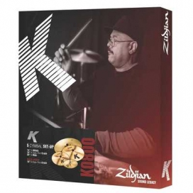 Zildjian Cartone 5 K (K0800): ride + hi-hat + 2 crash