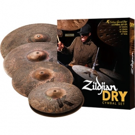 Zildjian Cartone 5 K Custom Special Dry (KCSP4681): ride + hi-hat + 2 crash