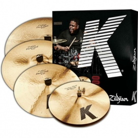 Zildjian Cartone 5 K Custom Dark (KCD900): ride + hi-hat + 2 crash