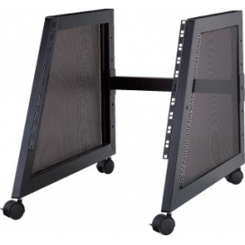 QUIK LOK RS510 RACK 10U INCLINATO+RUOTE