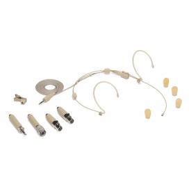 Samson DE50 - Microfono a Condensatore - Headset - Double ear - Beige - c/Astuccio