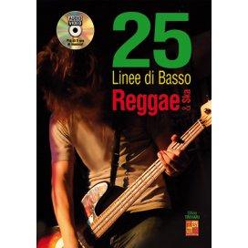 TRIVARI 25LINEEE DI BASSO REGGAE E SKA + CD