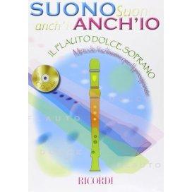 AAVV SUONO ANCH'IO: IL FLAUTO DOLCE + CD + HOHNER