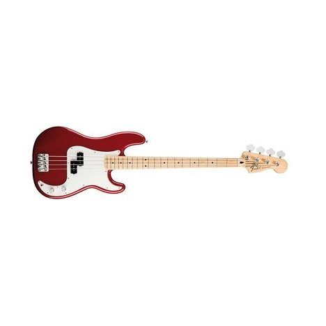FENDER JAZZ BASS MEX STANDARD RW CANDY APPLE RED