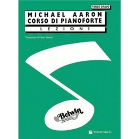 AARON CORSO PIANOFORTE III GRADO MB178