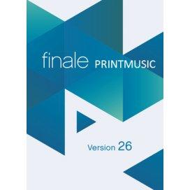 MAKE MUSIC FINALE PRINT MUSIC