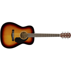 FENDER CD60 V3 DS SUNBURST WN