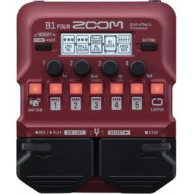 ZOOM B1 FOUR BASS EFFECT