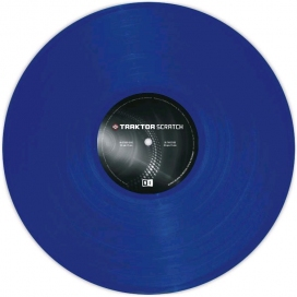 NATIVE INSTRUMENTS TRAKTOR CONTROL VINYL BLUE