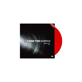 NATIVE INSTRUMENTS TRAKTOR CONTROL VINYL RED