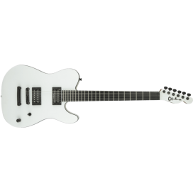 CHARVEL PRO MOD SD2 JOE DUPLANTIER SATIN WHITE