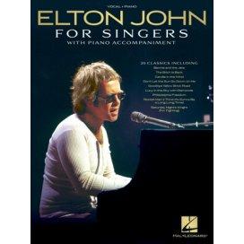 ELTON JOHN FOR SINGERS - PIANO E VOCE
