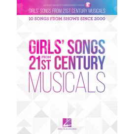 AAVV GIRL'S SONGS FROM 21ST CENTURY MUSICALS + AUDIO ONLINE