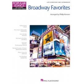 AAVV BROADWAY FAVORITES - POPULAR SONGS SERIES - KEVEREN