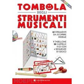 AAVV TOMBOLA DEGLI STRUMENTI MUSICALI + CD