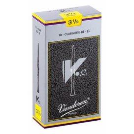 VANDOREN V12 ANCIA CLARINETTO Bb 10 PZ. MISURA 3,5