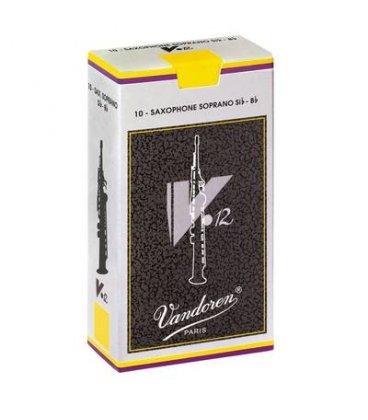 VANDOREN V12 ANCIA SAX SOPRANO 10 PZ. MISURA 2,5