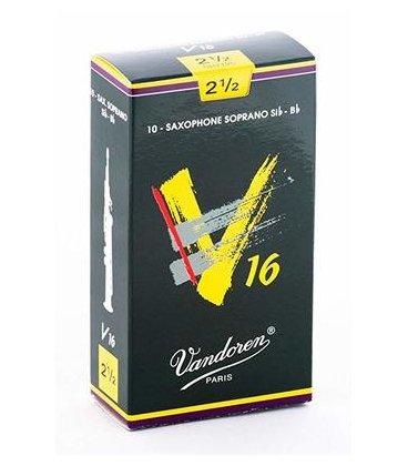 VANDOREN V16 ANCIA SAX SOPRANO 10 PZ. MISURA 2,5
