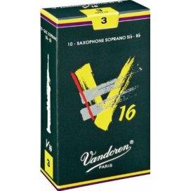 VANDOREN V16 ANCIA SAX SOPRANO 10 PZ. MISURA 3