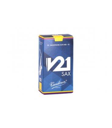 VANDOREN V21 ANCIA SAX ALTO 10 PZ. MIS. 2,5