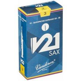 VANDOREN V21 ANCIA SAX SOPRANO 10 PZ. MISURA 3