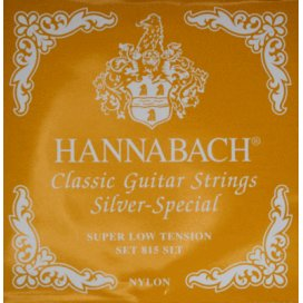 HANNABACH 815SL SUPER LOW TENSION SILVER SPECIAL SET