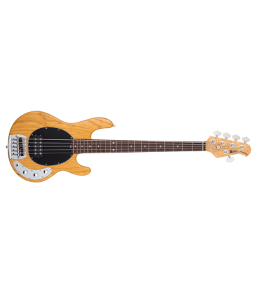 MUSIC MAN STINGRAY 5 CLASSIC FIGURED MAPLE NECK NATURAL