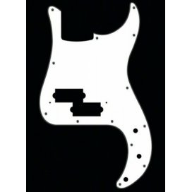 BOSTON PB-315-W PICKGUARD PRECISION WHITE