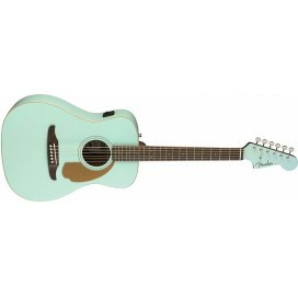 FENDER MALIBU PLAYER AQUA SPLASH WN
