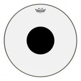 REMO CS-0318-10 CONTROLLED SOUND TRASPARENTE CON DOT NERO